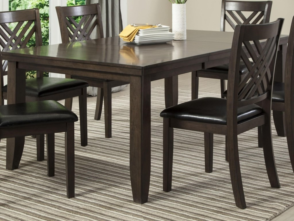 Lifestyle CassidyDining Table with Butterfly Leaf