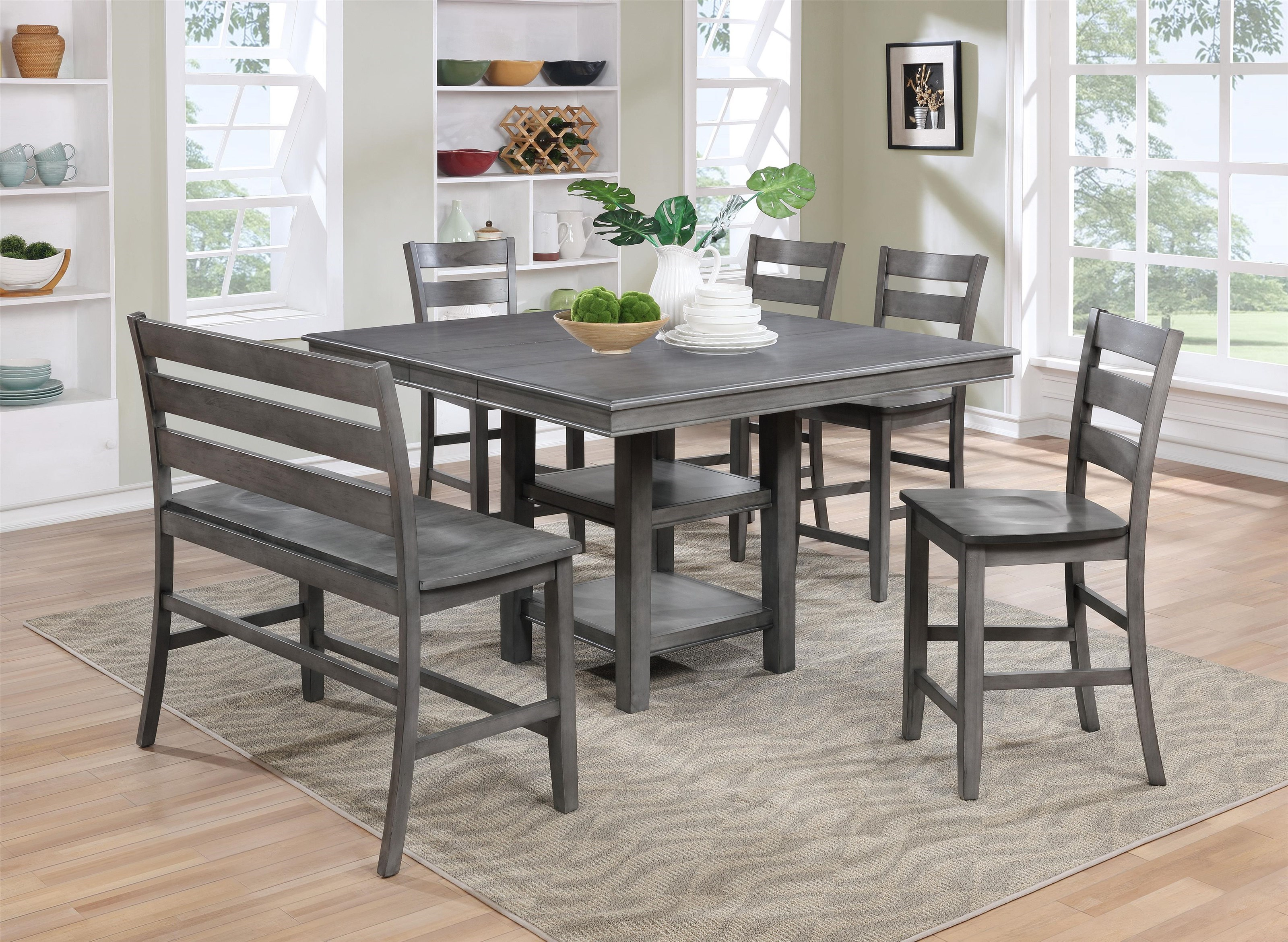Lifestyle C1651P Table And 4 Stools