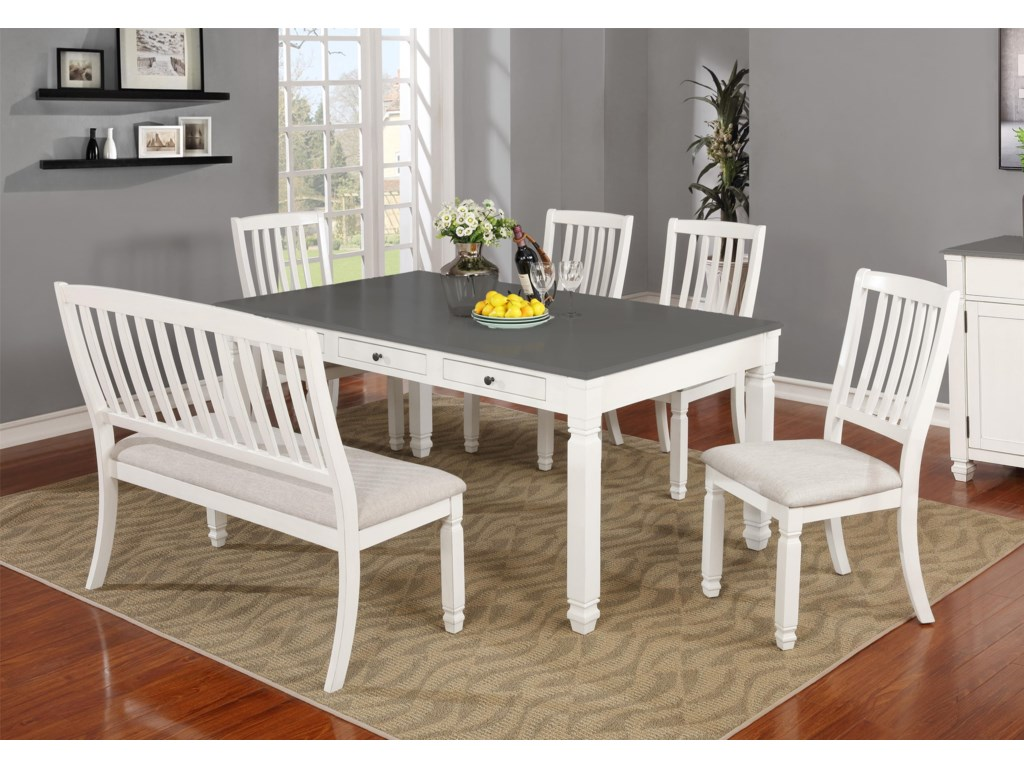Lifestyle C1735 Table X 4 Chairs
