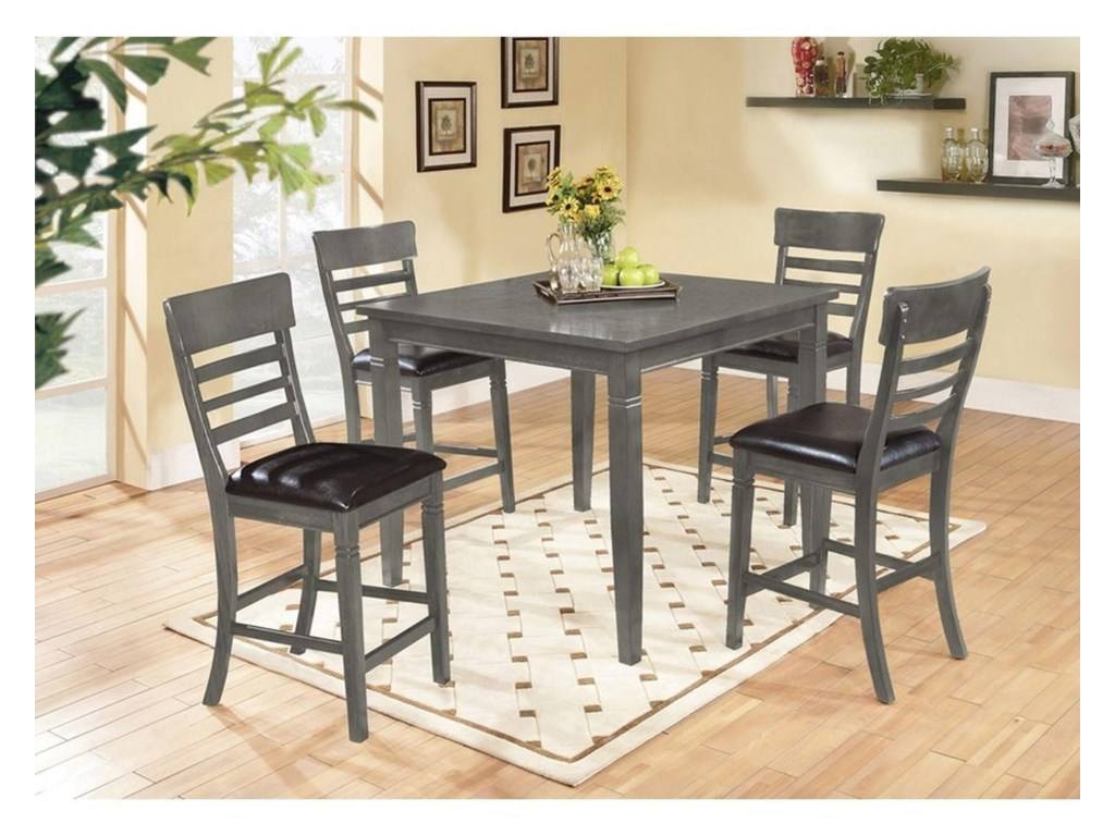 Lifestyle C1744P Pub Table Set
