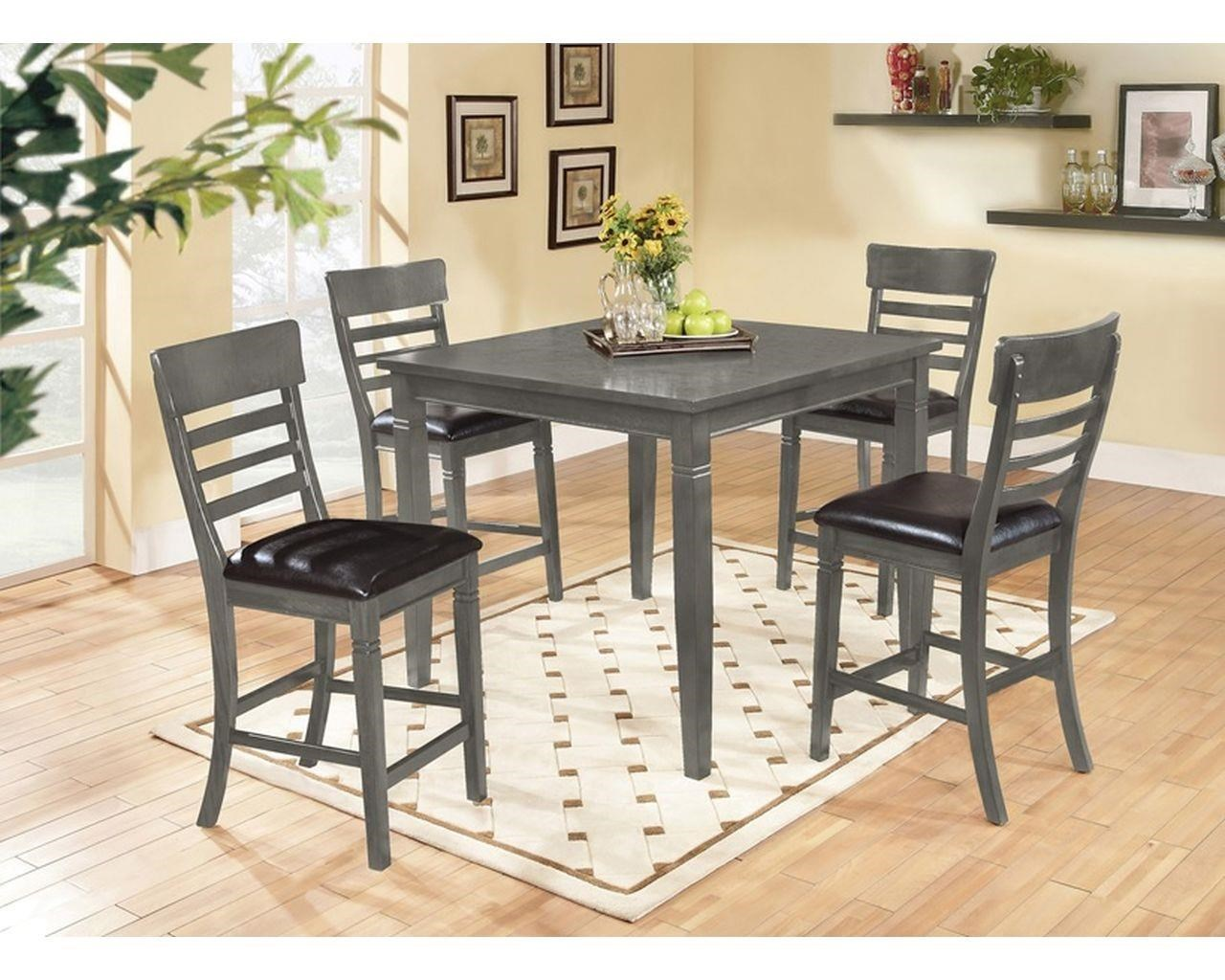 Picture of: Lifestyle Bailey With Ladder Back Pub Chairs Royal Furniture Pub Table And Stool Sets