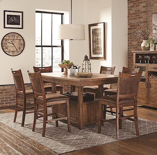 Lifestyle C1842P Pub Table x 4 stools