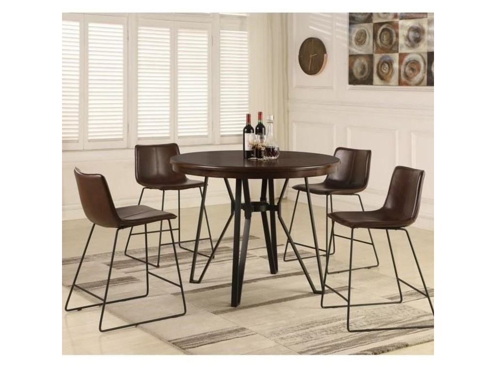 Lifestyle C1860PCounter Height Table and Stool Set