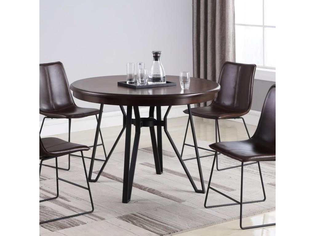 Lifestyle C1860P5 Piece Dining Set with Round Table