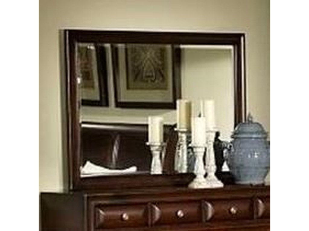 Lifestyle MillieMirror with Wood Frame