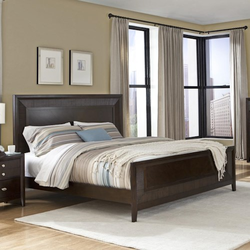 Lifestyle C3112 California King Panel Wood Bed