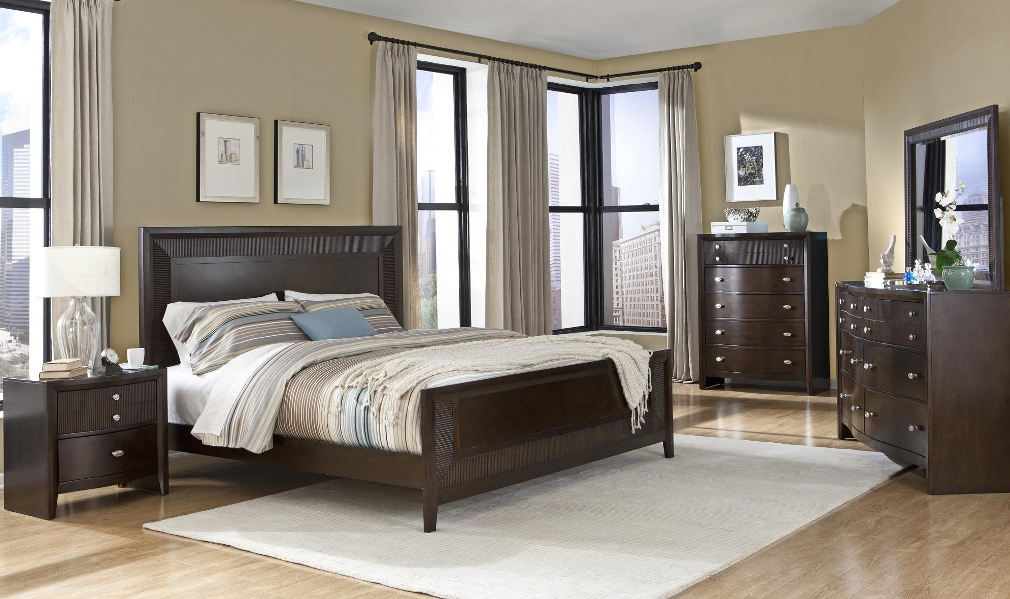 ... Lifestyle C3112Queen Wood Bed