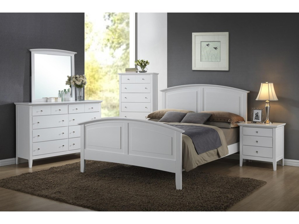 Lifestyle C3226A5 Piece Full Bedroom Group
