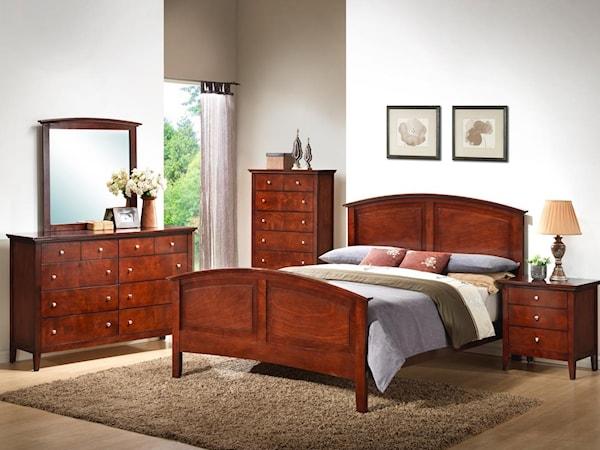 7 Piece Queen Bedroom Group with 2 Nightstan