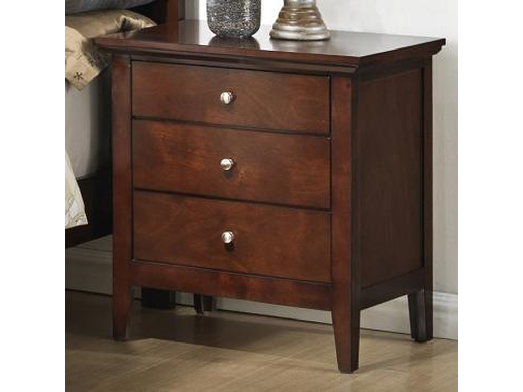 Lifestyle C3136A Bedroom3 Drawer Nightstand