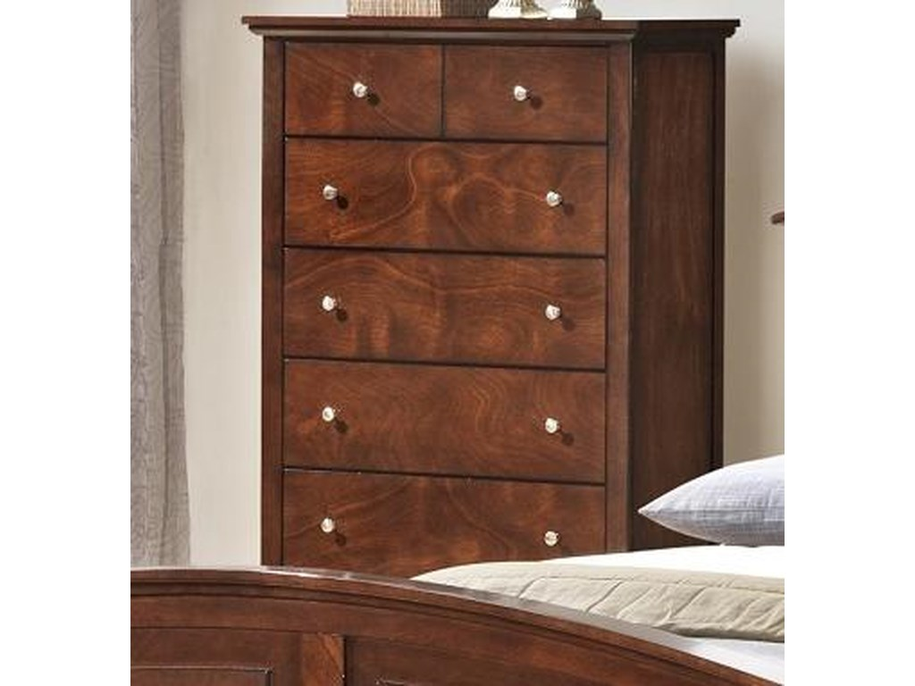 Lifestyle C3136A Bedroom5 Drawer Chest