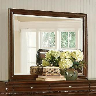 Lifestyle C4116A Traditional Beveled Landscape Mirror