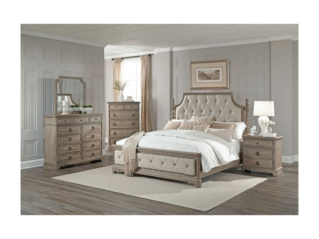 Lifestyle PearlDresser and Mirror Set