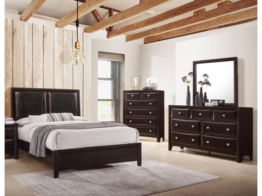 Lifestyle JessgalKing 5 Piece Bedroom Group