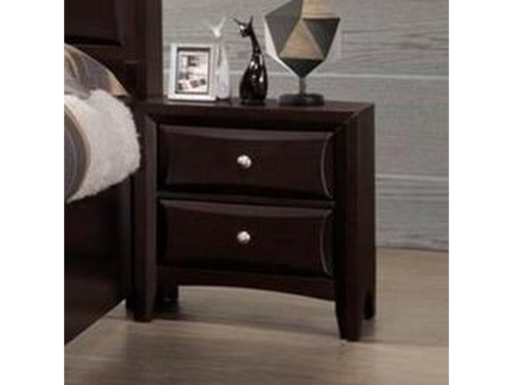Lifestyle C6498A2 Drawer Nightstand