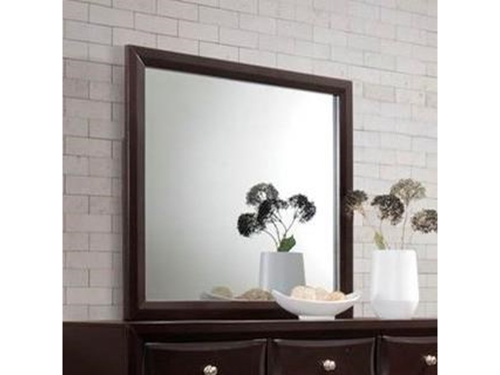 Lifestyle JessgalMirror with Wood Frame