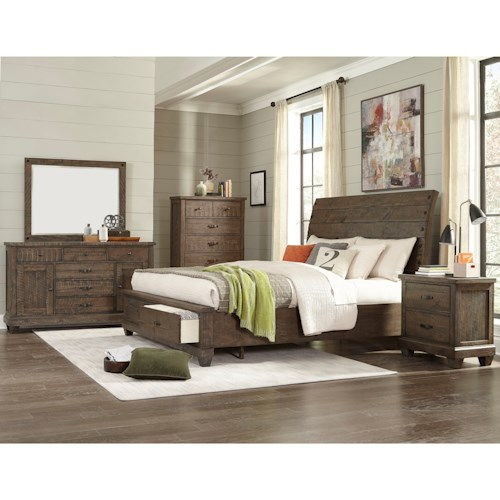 Lifestyle C7131A Queen Bedroom Group