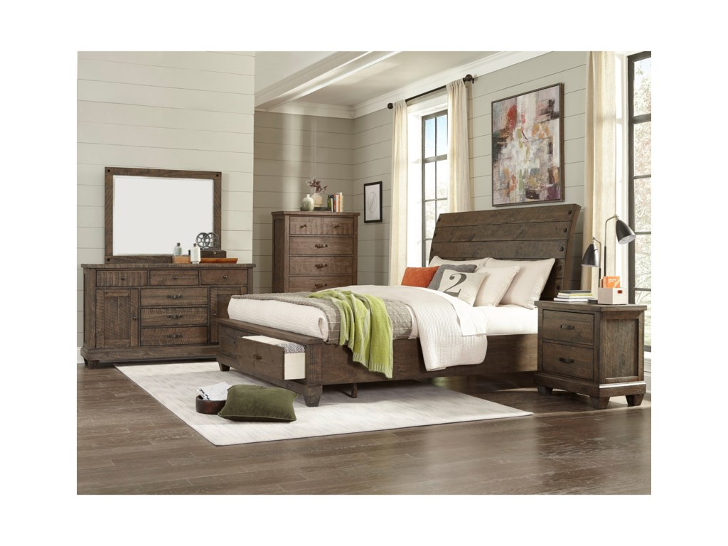 Lifestyle JD MexQueen Sleigh Bed