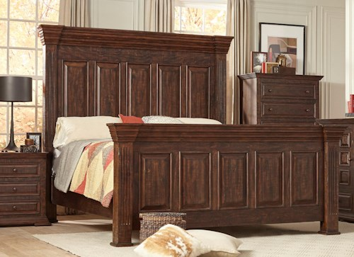 Lifestyle C7298 King Bed