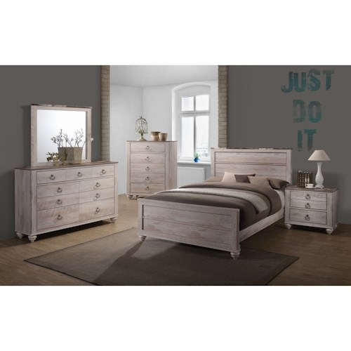 Lifestyle C7302A Queen Bedroom Group
