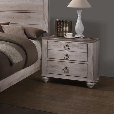 C7302a Two Drawer Nightstand