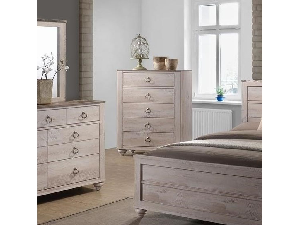 Lifestyle C7302AFive Drawer Chest