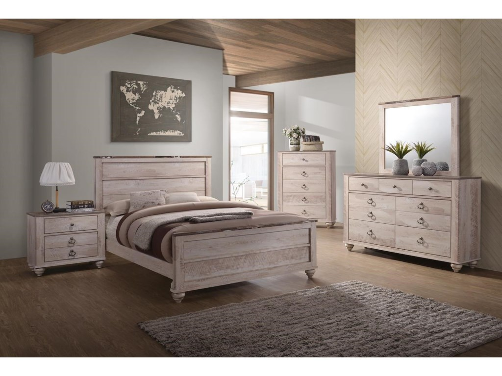 C7302A 7 Piece King Bedroom Group