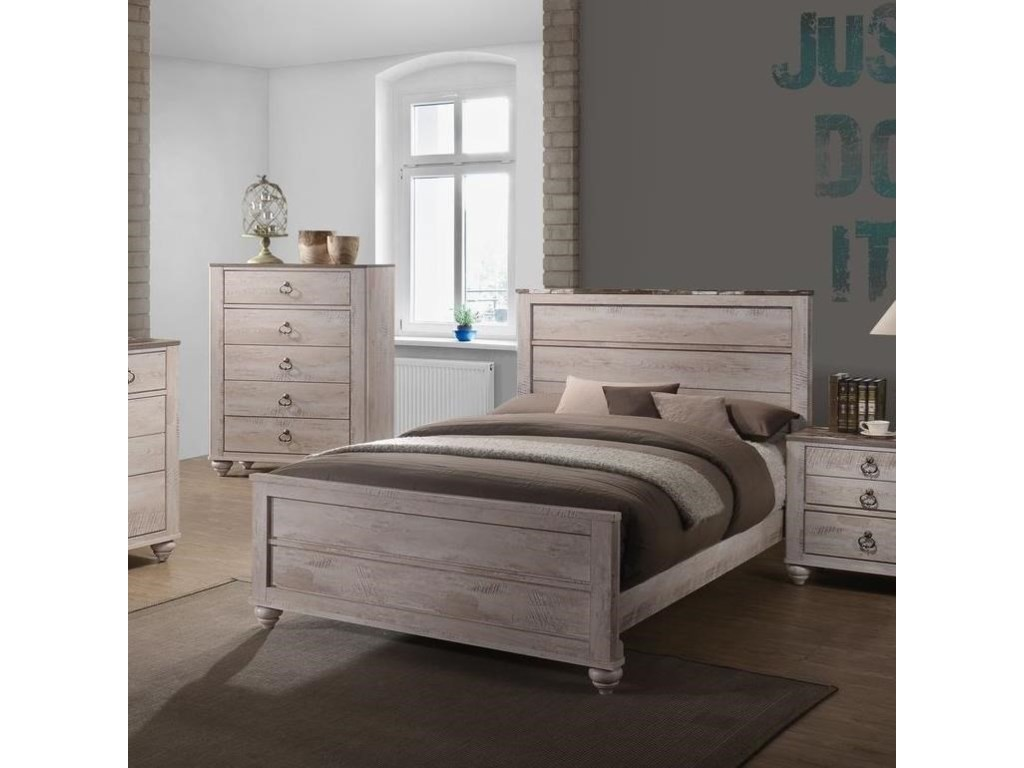 Lifestyle C7302AKing Panel Bed