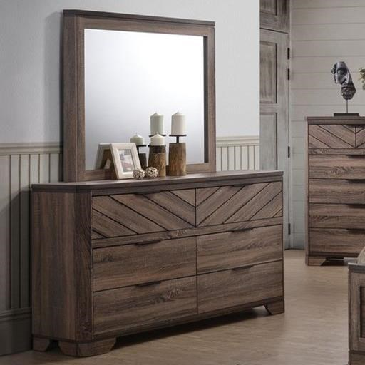 Lifestyle C7309ADresser and Mirror Combo
