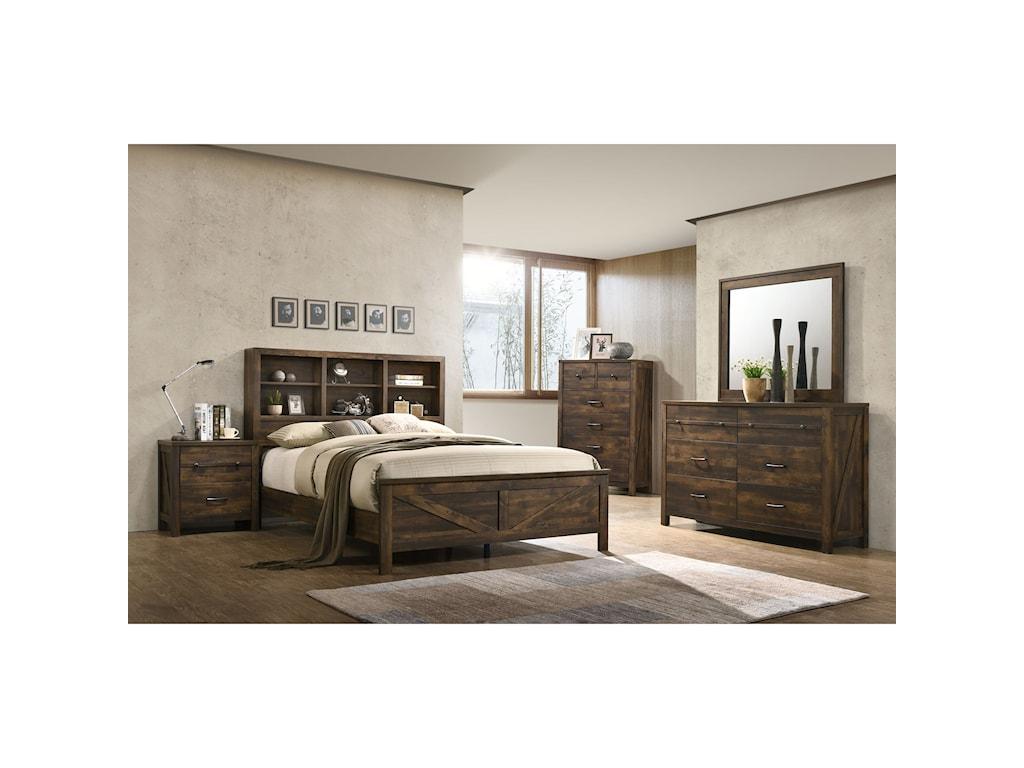 Lifestyle C8100AQueen Bedroom Group