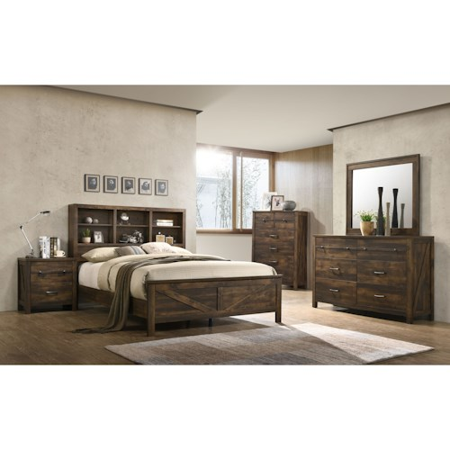 Lifestyle C8100A Queen Bedroom Group