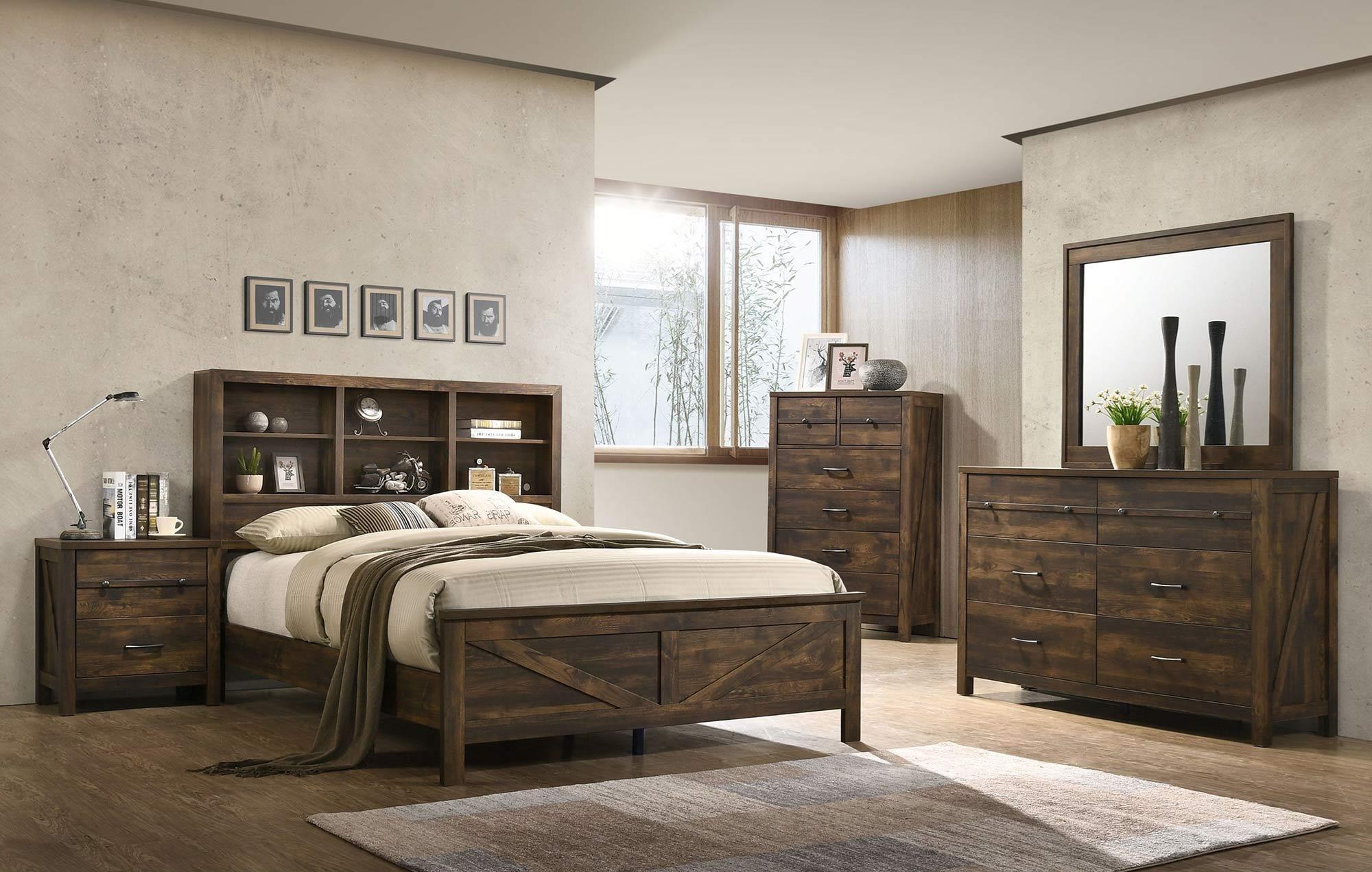 Merveilleux Lifestyle Dale4PC Queen Bedroom Set