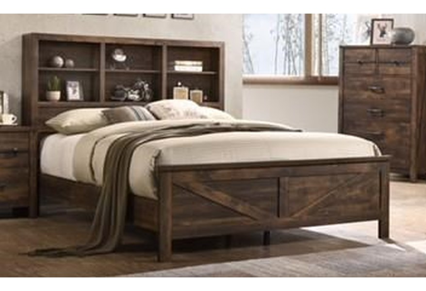 Lifestyle C8100a C8100aking King Bed Furniture Fair North