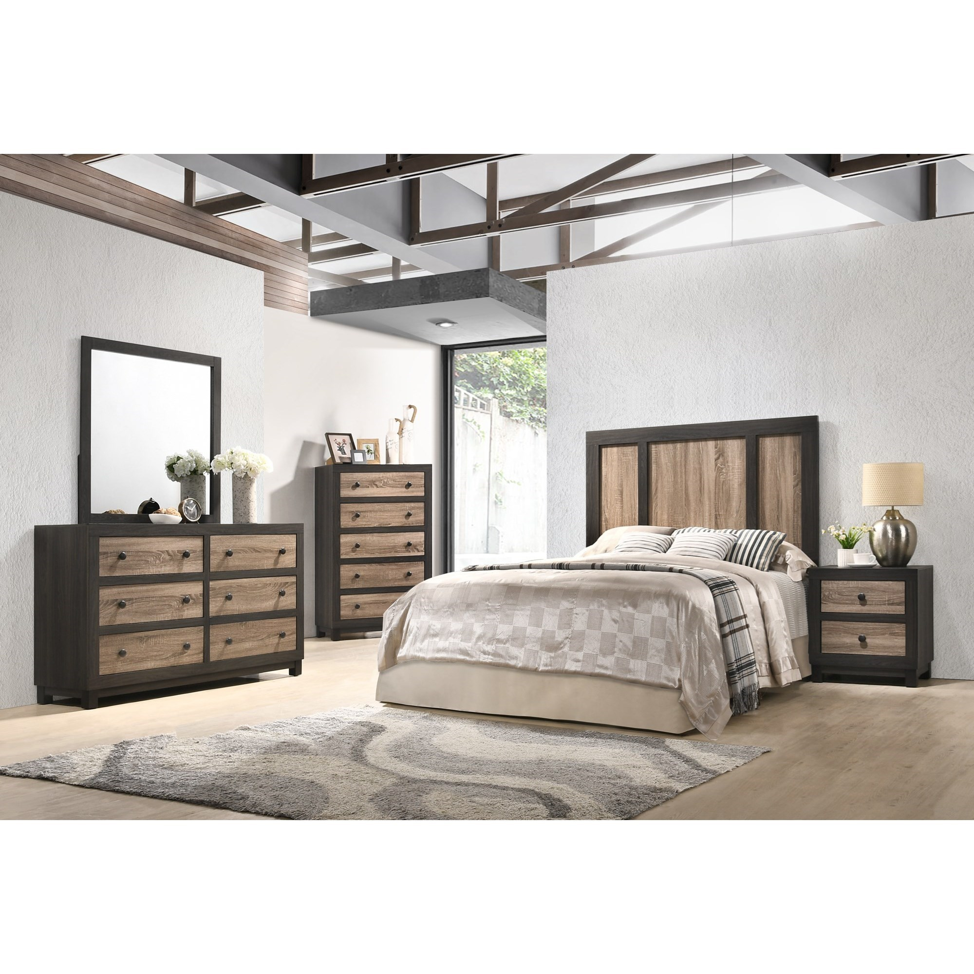 C8118 4 Piece Queen Bedroom Group