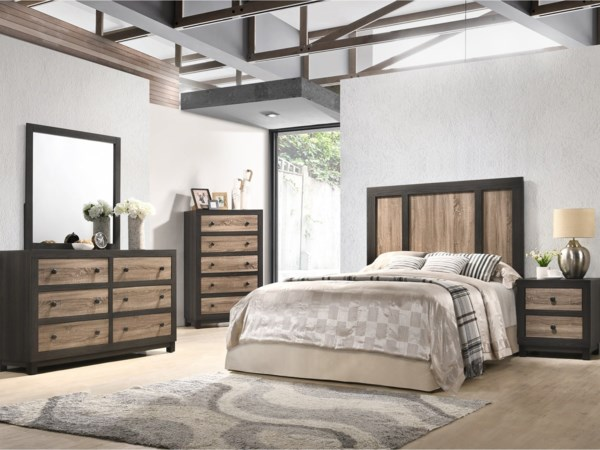 4 Piece Full Bedroom Group