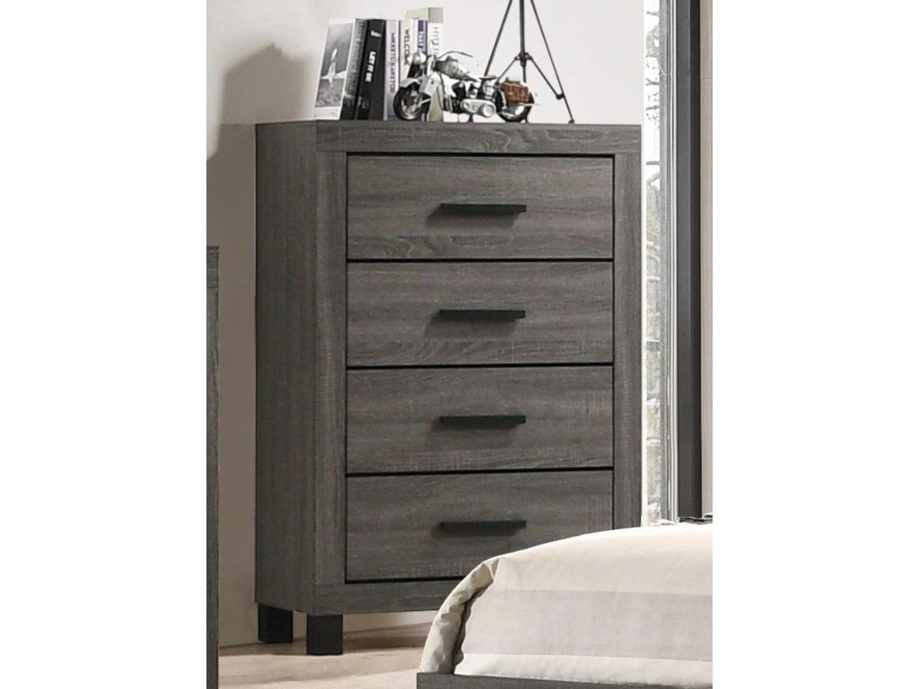 C8321A 4 Drawer Chest by Lifestyle at Furniture Fair - North Carolina