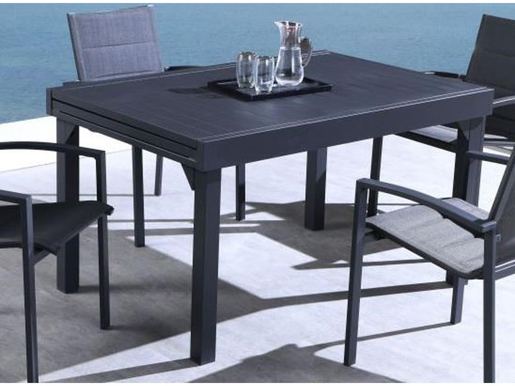 Lifestyle COD829 BlackOutdoor Dining Table