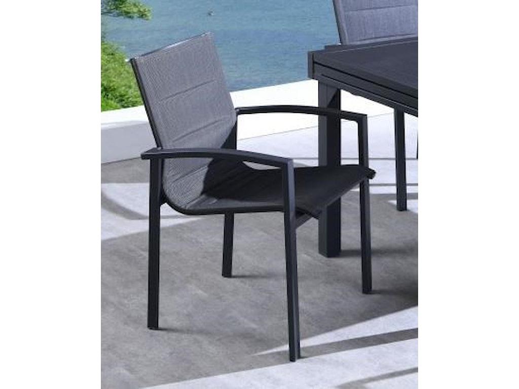 Lifestyle COD829 BlackOutdoor Dining Arm Chair