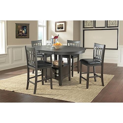 Lifestyle Dmx600 Grey Tbl Top Base 2ctns Furniture Fair North Carolina Pub Table And