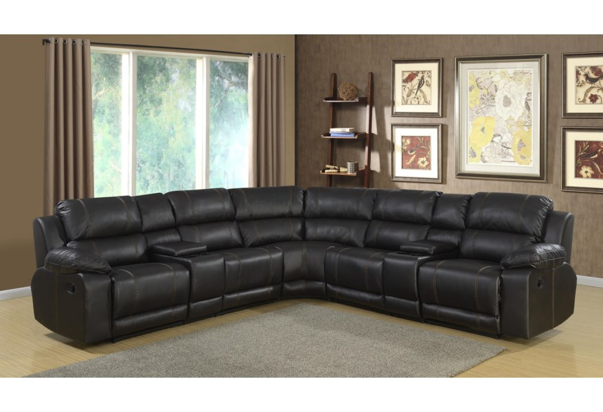 Lifestyle Fw212 Casual Sectional Sofa