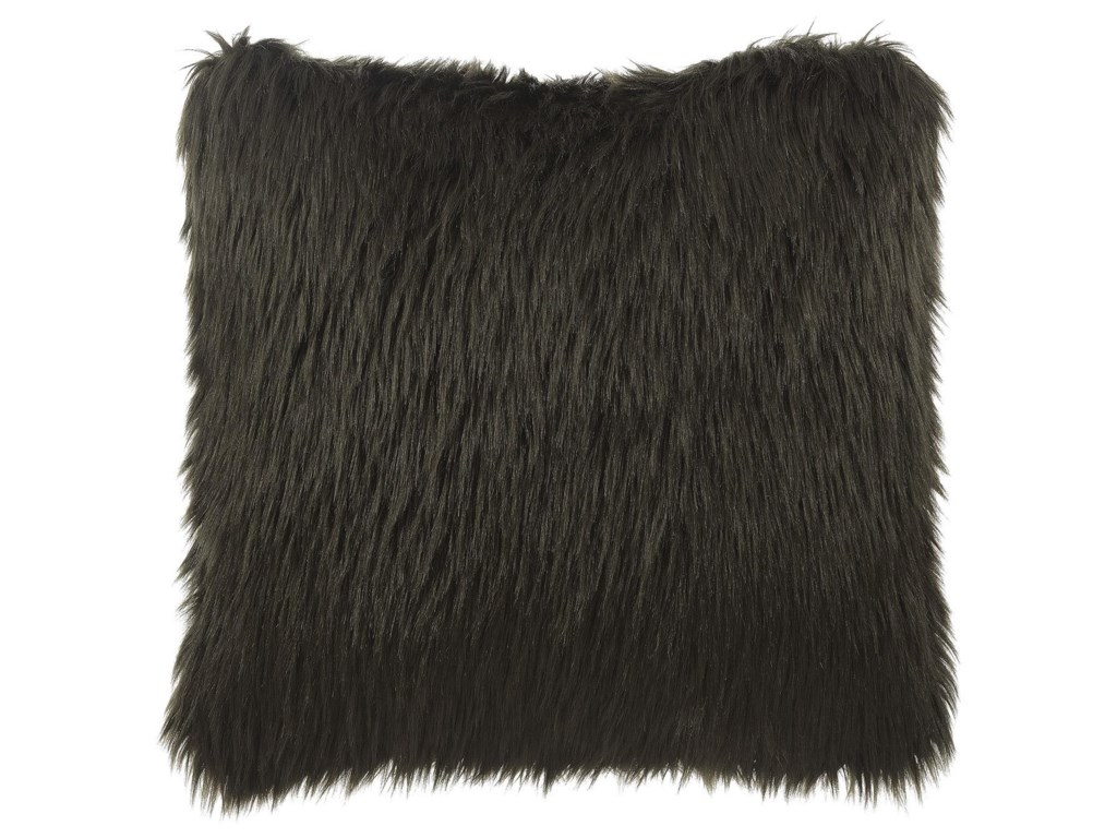 Lifestyle GPILABrown Fur Accent Pillow