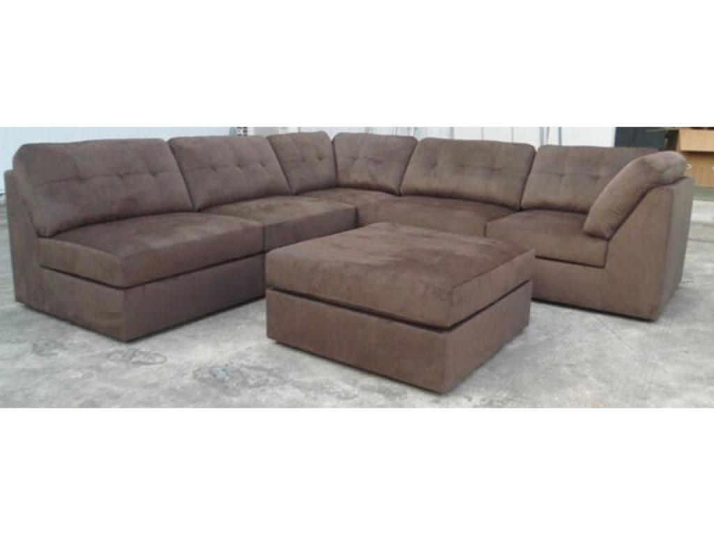U9377 Casual Sectional Sofa By Lifestyle