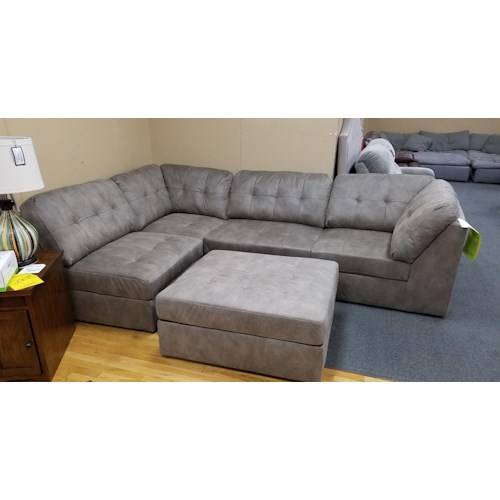 Lifestyle U9377 Casual Sectional Sofa