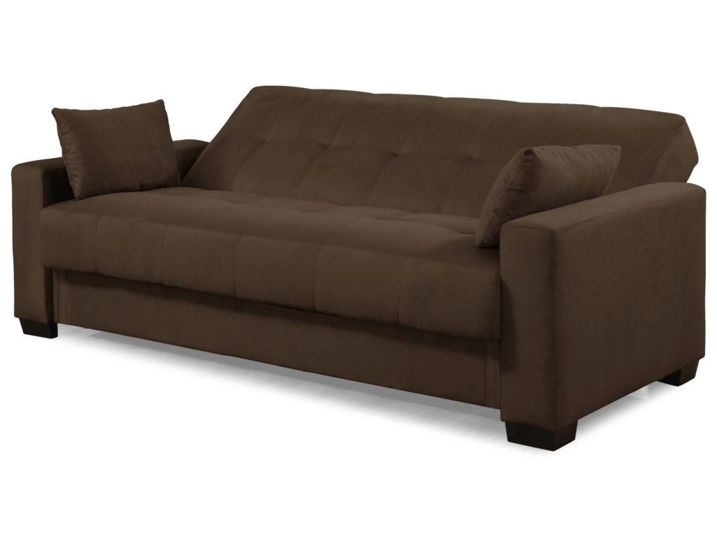 Bailey Convertible Sofa with Storage - Casual Convertibles ...