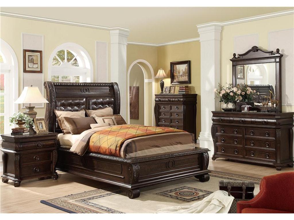 Home Insights Hillsboro4 Piece Queen Bedroom