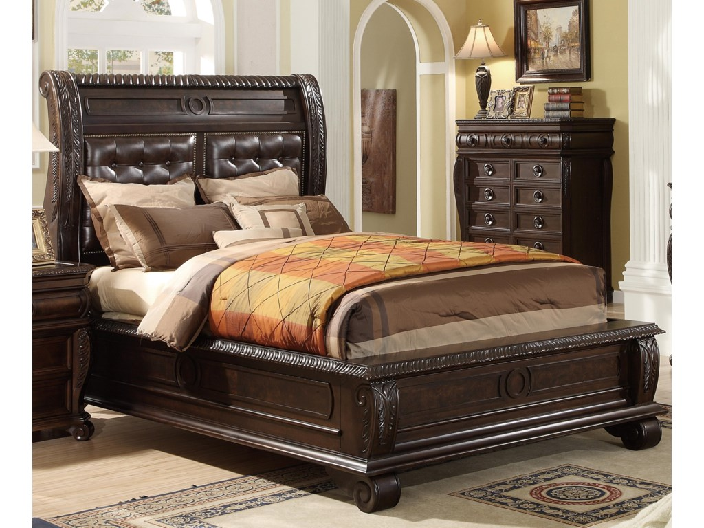 Home Insights HillsboroQueen Panel Bed