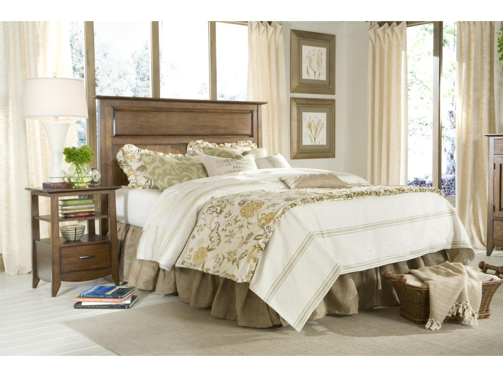 Linwood Furniture Baisley ParkKing Panel Headboard Bed