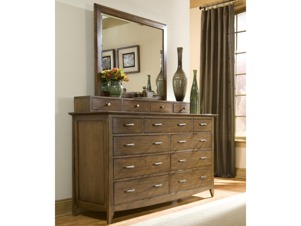 Linwood Furniture Baisley ParkDresser with Drawer Deck