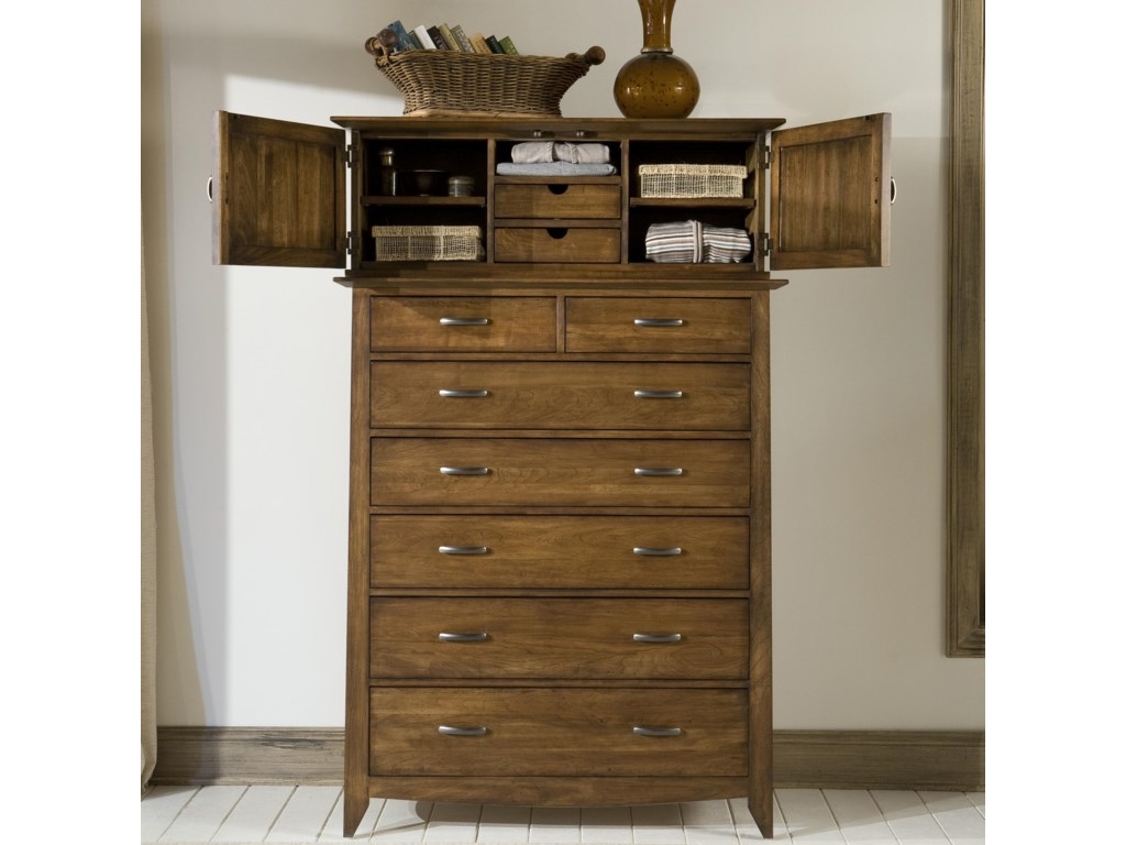 Linwood Furniture Baisley ParkChest and Dressing Cabinet Deck