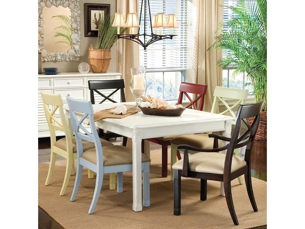 Linwood Furniture Villages of Gulf BreezeRectangular Leg Table